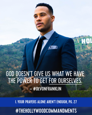 Devon Franklin – The Hollywood Commandments Release Date September26th